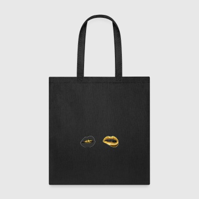 Gold Lipz - Tote Bag