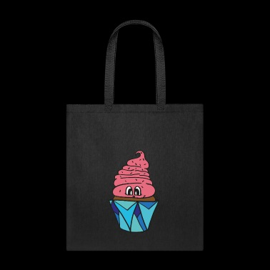 sweet little smiling cupcake, great gift idea - Tote Bag