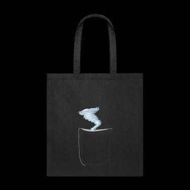 Funny Realistic Strom In A Pocket Design - Tote Bag