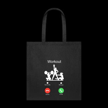 call cross fit girls workout sports training gym - Tote Bag