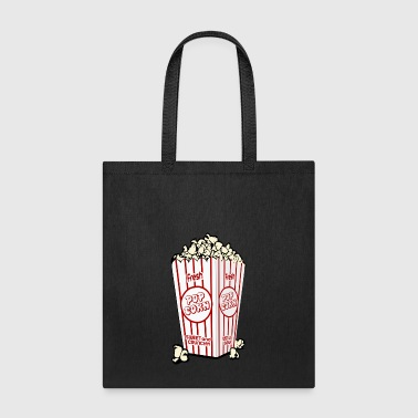 Popcorn Pop Corn Cinema TV Film Gift Present - Tote Bag