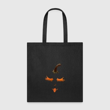 pumpkin eyelashes - Tote Bag