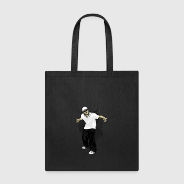 street_dancer_--ith_cap - Tote Bag