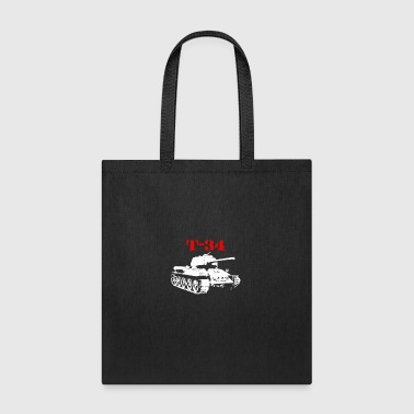 T 34 Soviet Russin World War II Tank - Tote Bag