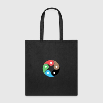 Zentao symbol as evolution of the Tao Yin Yang - Tote Bag