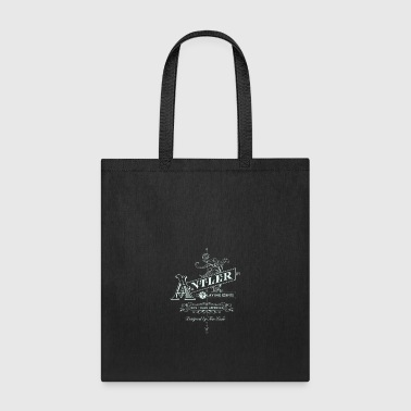 Antler playing cards - Tote Bag