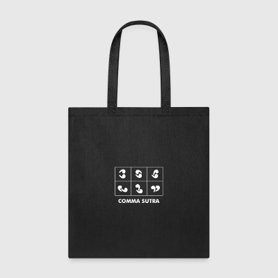 Comma Sutra - Tote Bag