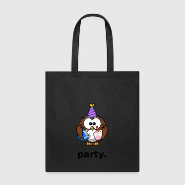 Party Owl - Tote Bag