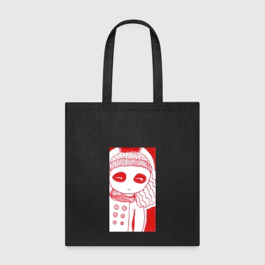 winter girl - Tote Bag