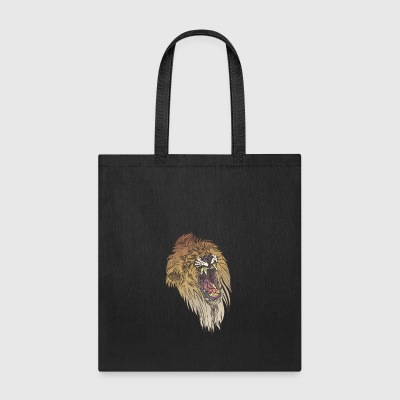 angry_lion_face - Tote Bag