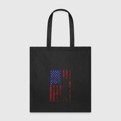bow flag seperated2 - Tote Bag