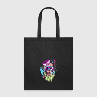skull snorkle-sea-ocean - Tote Bag