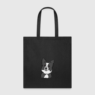 Lucky the Border Collie! - Tote Bag