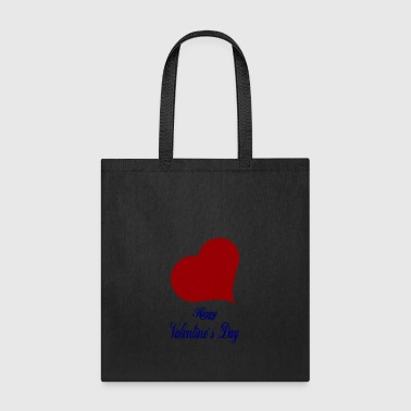Happy-Valentines Day-heart-love - Tote Bag