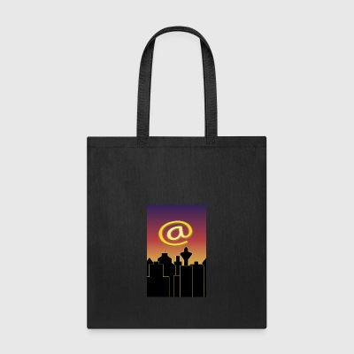skyline mail sign - Tote Bag