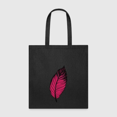 pen feather leave - Tote Bag