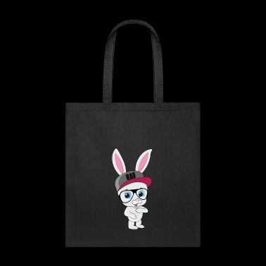 Cool Bunny Rabbit With Cap And Glasses - Tote Bag