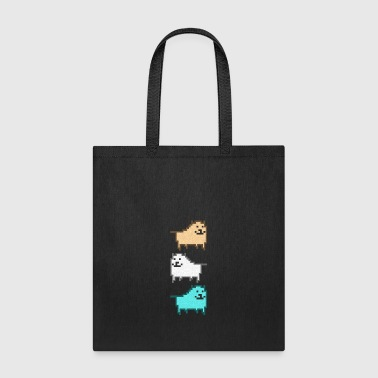 DOG_UNDERTALE - Tote Bag