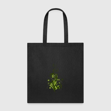 Abstract Flora - Tote Bag
