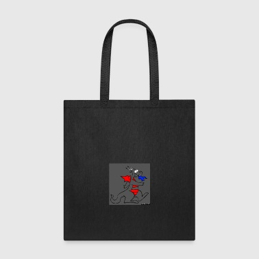 Dragon gray - Tote Bag