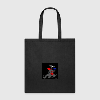 Dragon Black - Tote Bag