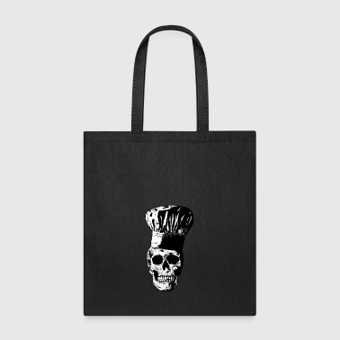 The chef Skull - Tote Bag