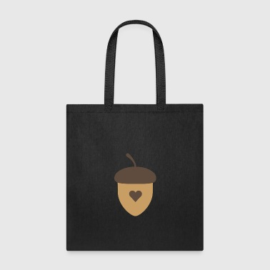 Acorn with heart - Tote Bag