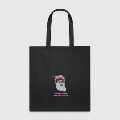 Dissent with modification - dark - Tote Bag
