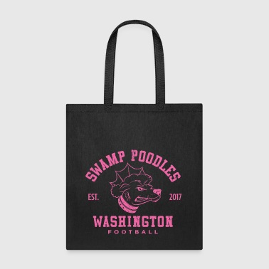 Washington Swamp Poodles - Pink Stencil - Tote Bag