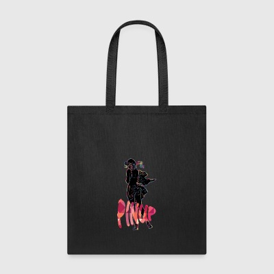 pinup_sexy_girl_black_color - Tote Bag