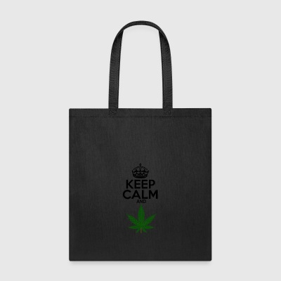 Keep Calm and Weed - Tote Bag