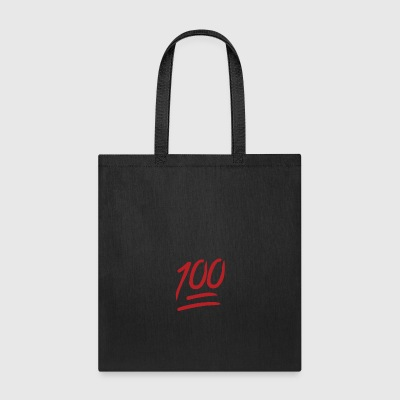 100 Emoji large - Tote Bag