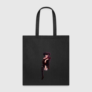 Edgy Pose - Tote Bag