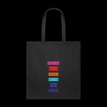 Crazy Rainbow Weird Colors - People will flip out! - Tote Bag