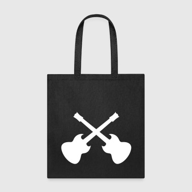 guitar cross - Tote Bag