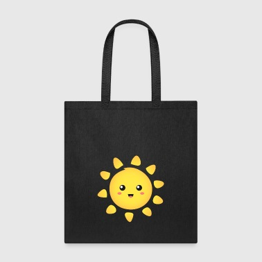 cute and happy sunshine - Tote Bag