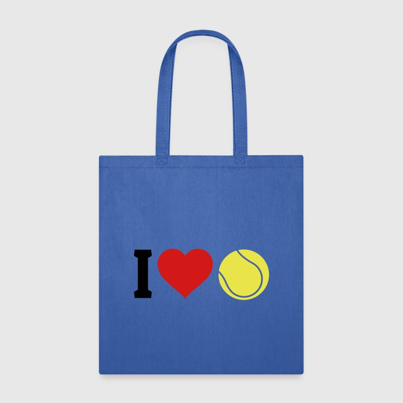 I love tennis - Tote Bag