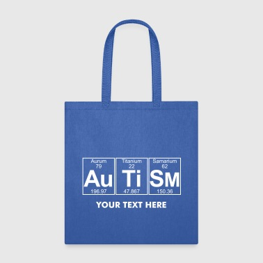 Au-Ti-Sm (autism) - Full - Tote Bag