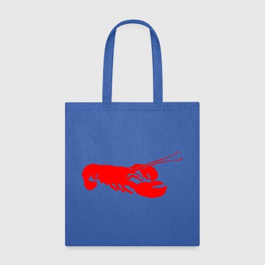 Red Lobster Outline - Tote Bag