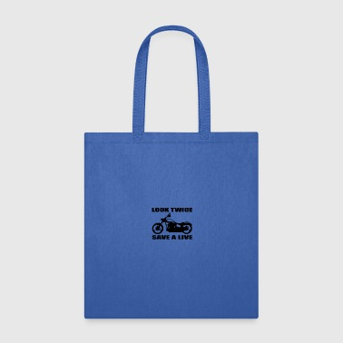 Look twice save a life 01 - Tote Bag
