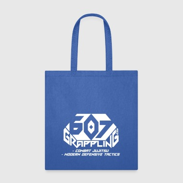 607 Grappling Logo White - Tote Bag