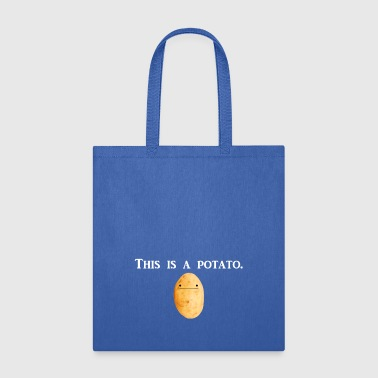 Potato This is a potato. - Tote Bag
