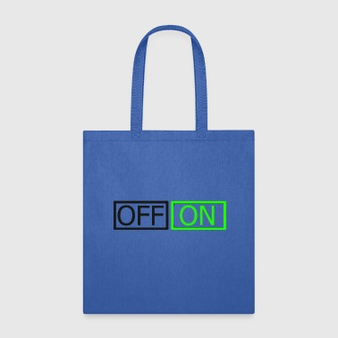 Off On - Tote Bag