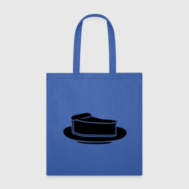 black break cake cheesecake cutlets plate deliciou - Tote Bag