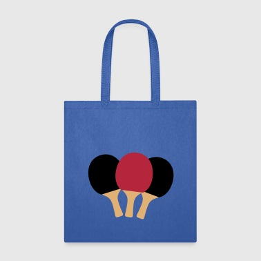 Table Tennis Paddle - Tote Bag