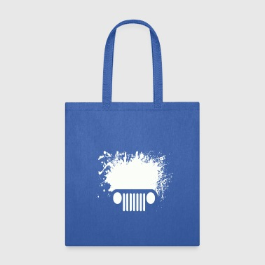 SPLATTER CAR - Tote Bag