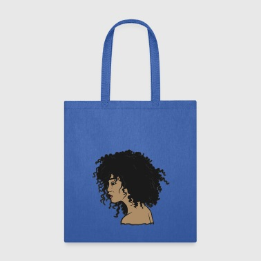 My Afro - Natural Hair - Afrocentric Gift - Tote Bag