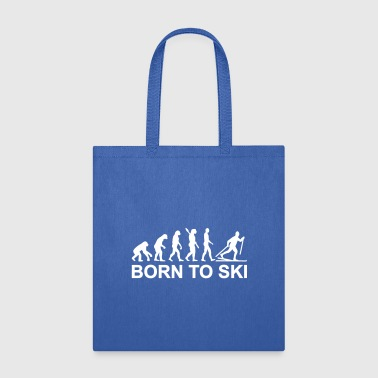 Evolution Cross-country skiing - Tote Bag