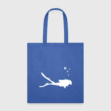 Diver, diving - Tote Bag