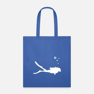 Scuba Diver, diving - Tote Bag